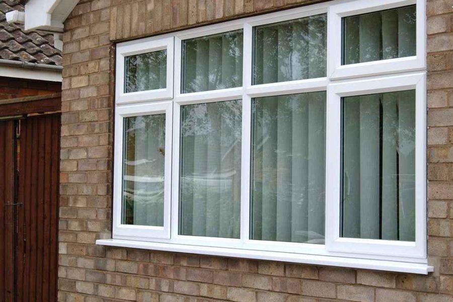 ПВХ окна в частном доме