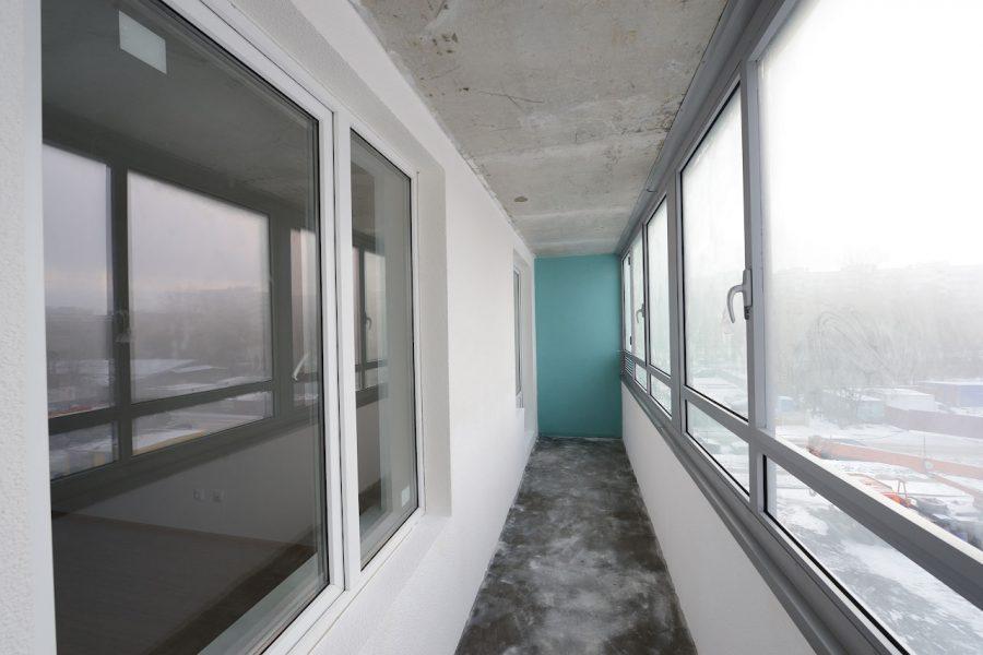 Окна в жилом комплексе