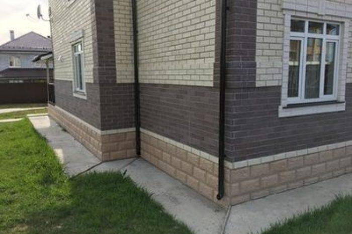 Фасад и отмостка